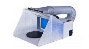 cabina de pintado aerografia