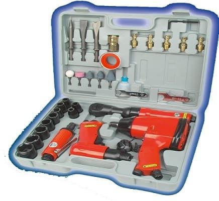 kit de herramientas neumáticas para compresor
