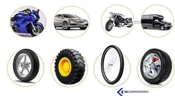 manometros para inflar ruedas