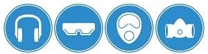 protecciones de seguridad para herrmamientas neumaticas