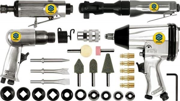 set de herramientas neumaticas