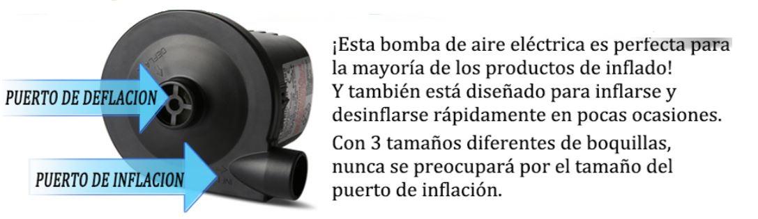 bomba de aire de inflado