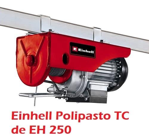 Review Einhell Polipasto TC de EH 250